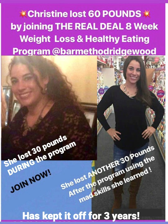 The Real Deal Online Weight Loss Program Results - Christine