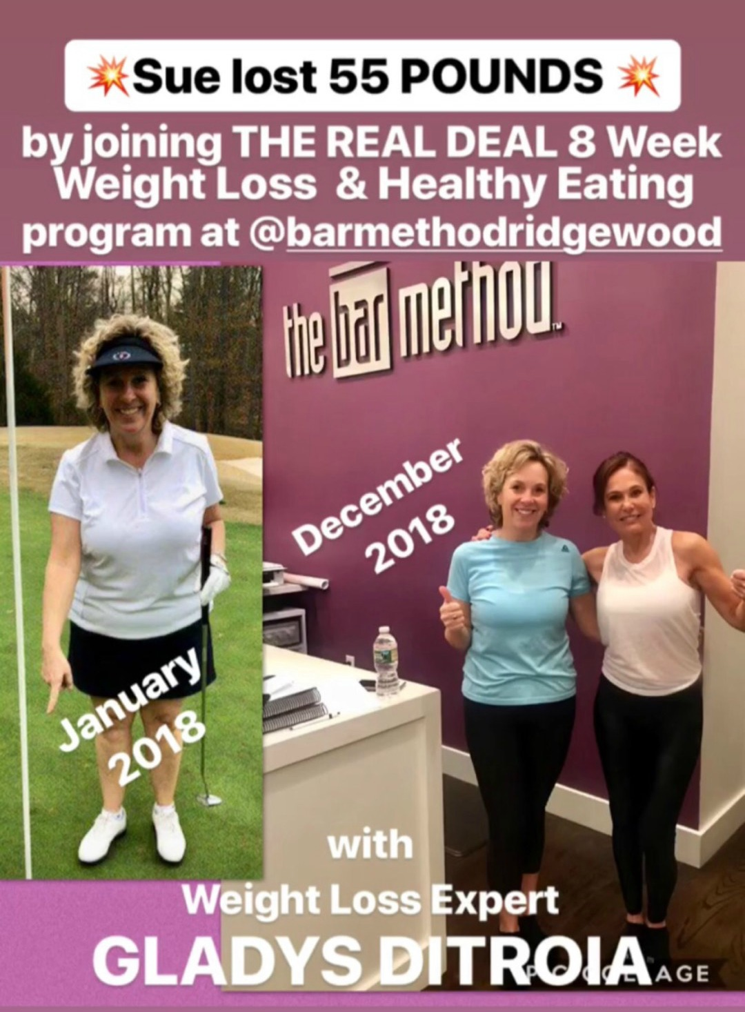 The Real Deal Online Weight Loss Program Results - Sue