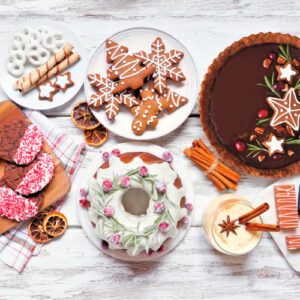 Holiday cookie tray