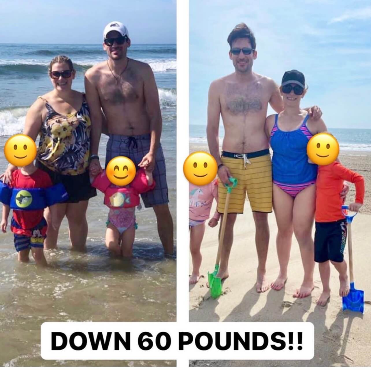 Real Deal Success - Down 60 pounds